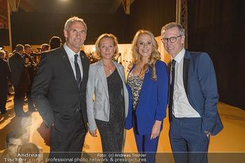 Sporthilfe Gala 2019 - Marx Halle Wien - Do 31.10.2019 - Michael und Tini KONSEL, Peter STÖGER, Ulrike KRIEGLER2