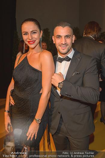 Sporthilfe Gala 2019 - Marx Halle Wien - Do 31.10.2019 - Marcos NADER mit Sandra17