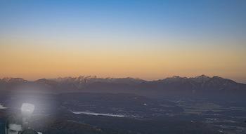 Österreich in Farben - Österreich - Do 31.10.2019 - Sonnenuntergang auf der Gerlitzen beim Feuerberg Mountain Resort15