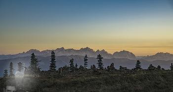 Österreich in Farben - Österreich - Do 31.10.2019 - Sonnenuntergang auf der Gerlitzen beim Feuerberg Mountain Resort16