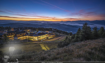 Österreich in Farben - Österreich - Do 31.10.2019 - Architektur im Sonnenaufgang, Gerlitzen Feuerberg Mountain Resor18