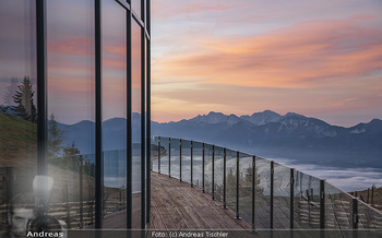 Österreich in Farben - Österreich - Do 31.10.2019 - Architektur im Sonnenaufgang, Gerlitzen Feuerberg Mountain Resor23