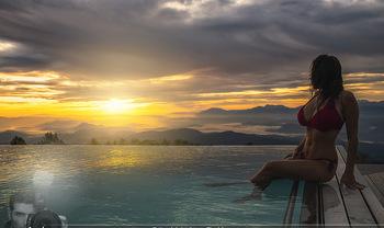 Österreich in Farben - Österreich - Do 31.10.2019 - Unendlichpook Skypool Sonnenaufgang, Gerlitzen Feuerberg Mountai55