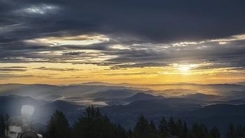 Österreich in Farben - Österreich - Do 31.10.2019 - Sonnenaufgang, Gerlitzen Feuerberg Mountain Resort, Kärnten, Fe56