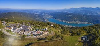 Österreich in Farben - Österreich - Do 31.10.2019 - Feuerberg Moutain Resort Gerlitzen Kärnten Luftbild bei Schönw60