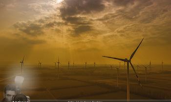 Österreich in Farben - Österreich - Do 31.10.2019 - Windräder Windpark Windrad Nachhaltig Natur Wolken Lichtstimmun82