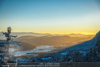 Österreich in Farben - Österreich - Do 31.10.2019 - Winter Niederösterreich NÖ Schnee Sonnenuntergang Idylle Hohe 84