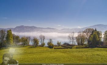 Österreich in Farben - Österreich - Do 31.10.2019 - Attersee Salzkammergut See Nebel Alpen Badeurlaub86