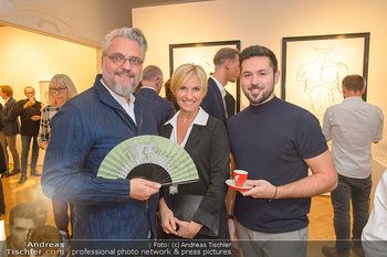 Kaffeesieder Fächerpräsentation - Galerie Ernst Hilger - Di 05.11.2019 - Christof CREMER, Simone HEHER, Martin TARDY1