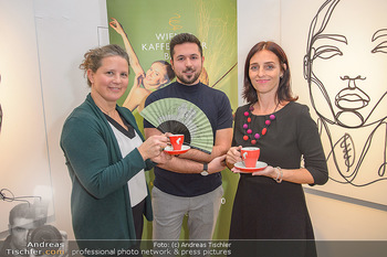 Kaffeesieder Fächerpräsentation - Galerie Ernst Hilger - Di 05.11.2019 - Anna KARNITSCHER, Martin TARDY, Renata PETOVSKA6