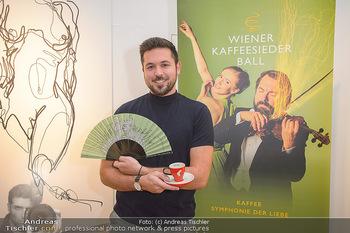 Kaffeesieder Fächerpräsentation - Galerie Ernst Hilger - Di 05.11.2019 - Martin TARDY9