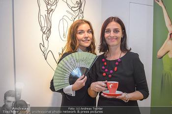 Kaffeesieder Fächerpräsentation - Galerie Ernst Hilger - Di 05.11.2019 - Barbara KAUDELKA, Renata PETOVSKA13
