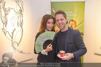 Kaffeesieder Fächerpräsentation - Galerie Ernst Hilger - Di 05.11.2019 - Barbara KAUDELKA, Markus FREISTÄTTER17