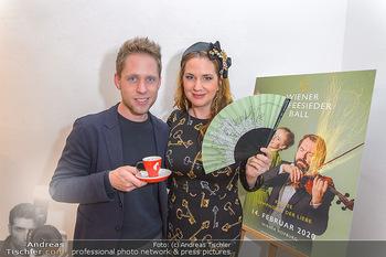 Kaffeesieder Fächerpräsentation - Galerie Ernst Hilger - Di 05.11.2019 - Niki OSL, Markus FREISTÄTTER22