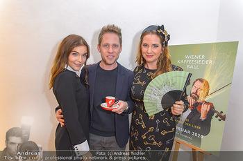 Kaffeesieder Fächerpräsentation - Galerie Ernst Hilger - Di 05.11.2019 - Barbara KAUDELKA, Niki OSL, Markus FREISTÄTTER23