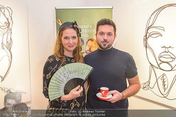 Kaffeesieder Fächerpräsentation - Galerie Ernst Hilger - Di 05.11.2019 - Niki OSL, Martin TARDY24