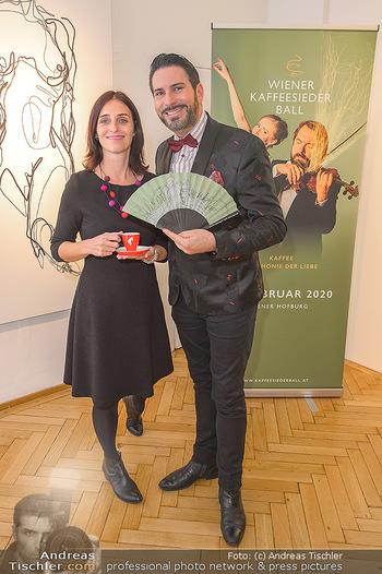 Kaffeesieder Fächerpräsentation - Galerie Ernst Hilger - Di 05.11.2019 - Renata PETOVSKA, Clemens UNTERREINER28