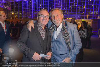 ORF Programmpräsentation - Marx Halle - Do 07.11.2019 - Sepp ADLMANN, Peter RAPP1