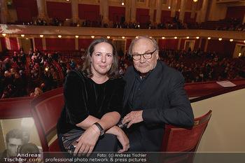 Wider die Gewalt Gala - Wiener Konzerthaus - Mo 11.11.2019 - Klaus Maria BRANDAUER mit Ehefrau Natalie KRENN2