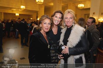 Wider die Gewalt Gala - Wiener Konzerthaus - Mo 11.11.2019 - Kathi und Elisabeth STUMPF, Claudia VRANITZKY4