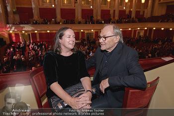Wider die Gewalt Gala - Wiener Konzerthaus - Mo 11.11.2019 - Klaus Maria BRANDAUER mit Ehefrau Natalie KRENN18