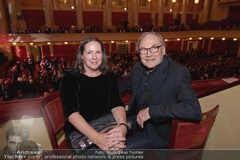 Wider die Gewalt Gala - Wiener Konzerthaus - Mo 11.11.2019 - Klaus Maria BRANDAUER mit Ehefrau Natalie KRENN19