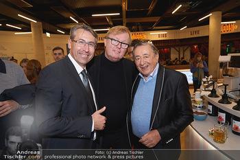 The Kitchen Opening - Donauzentrum, Wien - Mi 13.11.2019 - Anton CECH, Peter SCHAIDER, Richard LUGNER71