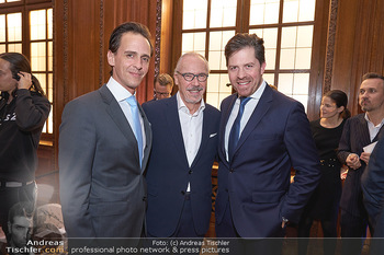 Signa Törggelen - Park Hyatt, Wien - Mi 13.11.2019 - Siegfried MERYN mit Sohn Alexander, Daniel SERAFIN45
