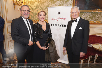 100 Jahre Tanzschule Elmayer - Palais Pallavicini, Wien - Di 19.11.2019 - Thomas SCHÄFER ELMAYER, Heinz STIASTNY mit Ehefrau Michaela17