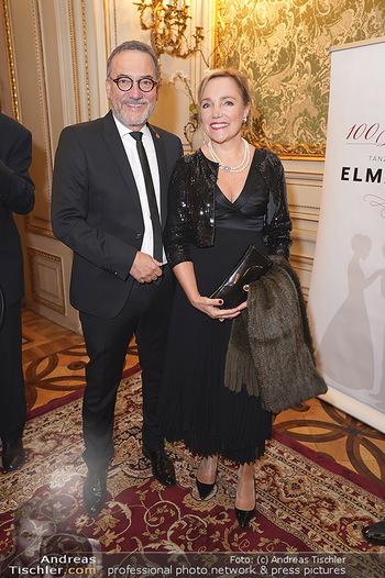 100 Jahre Tanzschule Elmayer - Palais Pallavicini, Wien - Di 19.11.2019 - Heinz STIASTNY mit Ehefrau Michaela18