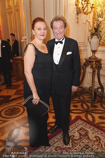 100 Jahre Tanzschule Elmayer - Palais Pallavicini, Wien - Di 19.11.2019 - Martin SUPPAN mit Ehefrau Claudia31