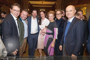 Gault Millau - Park Hyatt, Wien - Mi 20.11.2019 - Heinz REITBAUER, Tomas DORFER, Birgit REITBAUER, Rudi und Bertho1