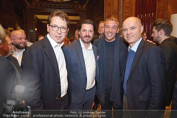 Gault Millau - Park Hyatt, Wien - Mi 20.11.2019 - Rudi OBAUER, Thomas DORFER, Heinz REITBAUER, Alain WEISSGERBER14