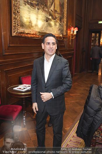 IMF Pressegespräch - Hotel Sacher, Wien - Do 21.11.2019 - Juan Diego FLOREZ9