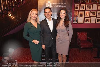 IMF Pressegespräch - Hotel Sacher, Wien - Do 21.11.2019 - Juan Diego FLOREZ, Leona KÖNIG, Lidia BAICH12