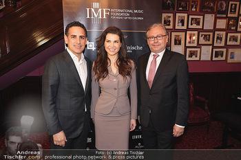 IMF Pressegespräch - Hotel Sacher, Wien - Do 21.11.2019 - Juan Diego FLOREZ, Leona KÖNIG, Alexander WRABETZ17