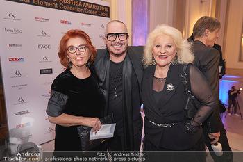 Haute Couture Award - Odeon Theater - Do 21.11.2019 - Inge KLINGOHR, Wolfgang REICHL, Marika LICHTER1