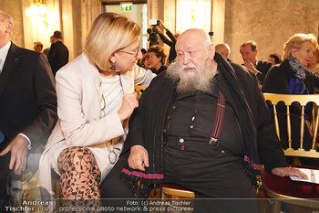 Buchpräsentation ´Kultur.Region.Europa´ - Bundesministerium für Europa, Integration und Äußeres, Wien - Mi 27.11.2019 - Johanna MIKL-LEITNER, Hermann NITSCH36