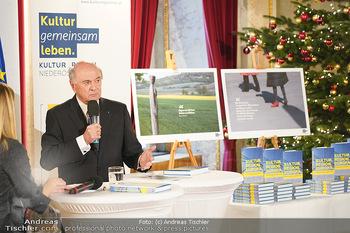 Buchpräsentation ´Kultur.Region.Europa´ - Bundesministerium für Europa, Integration und Äußeres, Wien - Mi 27.11.2019 - Erwin PRÖLL97