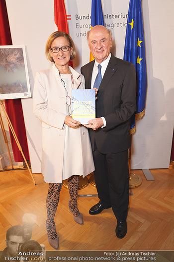 Buchpräsentation ´Kultur.Region.Europa´ - Bundesministerium für Europa, Integration und Äußeres, Wien - Mi 27.11.2019 - Erwin PRÖLL, Johanna MIKL-LEITNER101