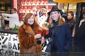 Wintergarten Opening - Bar Campari, Wien - Mi 27.11.2019 - Nadja BERNHARD mit Mutter Hermengild1