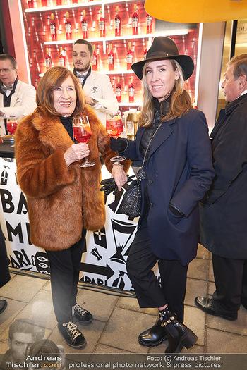 Wintergarten Opening - Bar Campari, Wien - Mi 27.11.2019 - Nadja BERNHARD mit Mutter Hermengild2