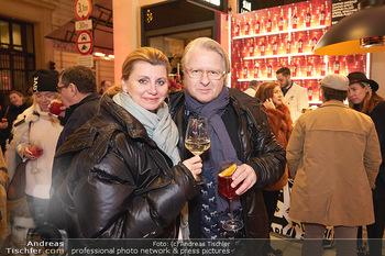 Wintergarten Opening - Bar Campari, Wien - Mi 27.11.2019 - Winnie BRUGGER mit Begleitung8