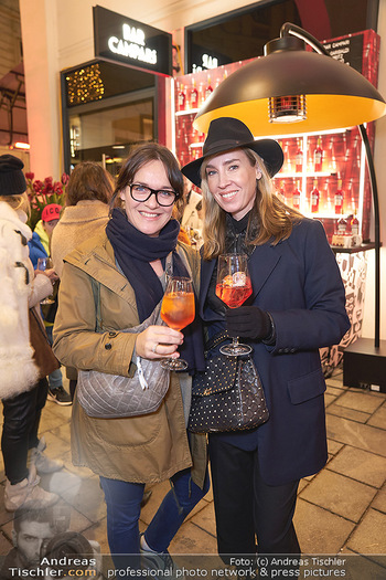 Wintergarten Opening - Bar Campari, Wien - Mi 27.11.2019 - Nadja BERNHARD, Eva PÖLZL9