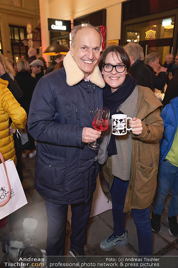 Wintergarten Opening - Bar Campari, Wien - Mi 27.11.2019 - Peter FRIESE, Eva PÖLZL22