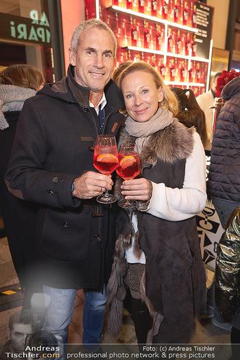 Wintergarten Opening - Bar Campari, Wien - Mi 27.11.2019 - Tini und Michael KONSEL25