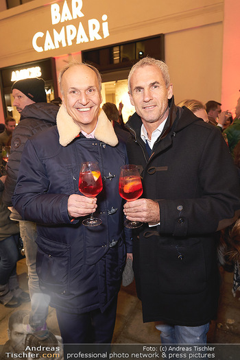 Wintergarten Opening - Bar Campari, Wien - Mi 27.11.2019 - Peter FRIESE, Michael KONSEL29
