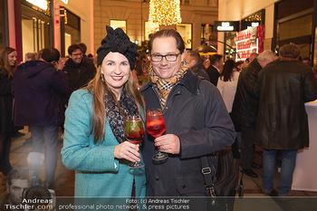 Wintergarten Opening - Bar Campari, Wien - Mi 27.11.2019 - Maria und Andreas GROßBAUER32