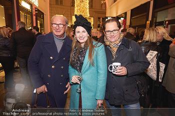 Wintergarten Opening - Bar Campari, Wien - Mi 27.11.2019 - Reinhard KÖCK, Maria und Andreas GROßBAUER35