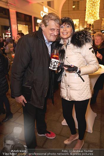 Wintergarten Opening - Bar Campari, Wien - Mi 27.11.2019 - Dieter CHMELAR mit Ehefrau40